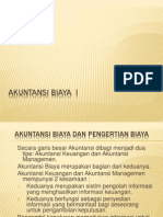 Akuntansi Biaya I-e