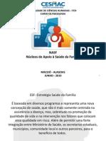 NASF Apresentação1