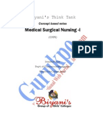 Medical Surgical Nursing- I