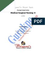Medical Surgical Nursing- II