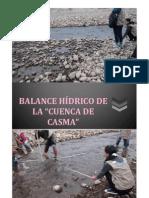 Balance Hidrico Cuenca Casma - Chavi
