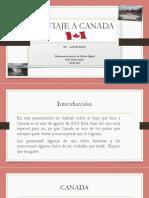 Laboratorio 3 -Mi Viaje a Canada