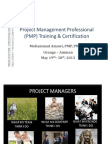 Project Management Professional (PMP) Training &NEW