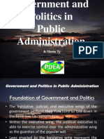 Government and Politics in Public Administration