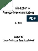 TE311 Lecture08 DSB SC Modulation