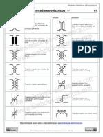 simbolos transformadores electricos