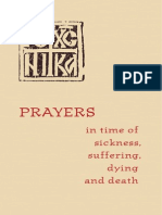 Prayers in Times of Sickness, Suffering, And Death