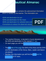 (C) the Nautical Almanac
