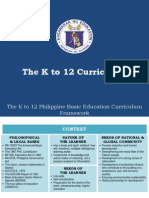 k to 12 Curriculum for all