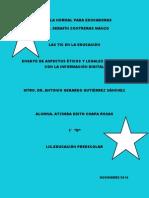 ENSAYO Aspectos Eticos y Legales Asociados Con La Informacion Digital.