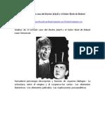 Análisis de El Extraño Caso Del Doctor Jekyll y El Señor Hyde de Robert Louis Stevenson
