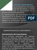 Administracion Conocimiento III