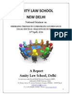 National Seminar a Report