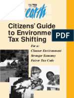 Citizens Guide to Environmental Tax Shifting