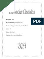 Derivados clorados Monografia