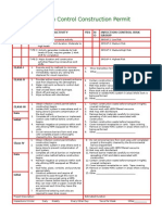 Infection Control Construction Permit