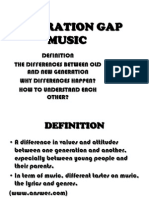 Generation Gap - Music-1