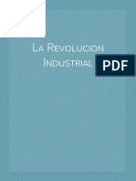 Notas para entender la Revolución Industrial