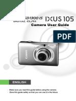 Pssd1300is Ixus105 Guide En