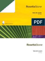 Rosetta Stone Guia Del Usuario