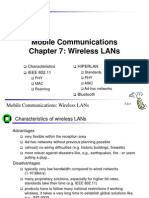 Wireless LANs mobile