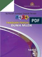 Panduan Pengajaran Dunia Muzik Tahun 3