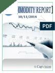 Commodity Report 10-11-2014