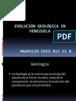 Evolución Geológica en Venezuela