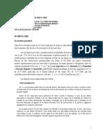 Sentencia Inconstitucionalidad. Ley Especial de Garantia de La Propiedad. Ref. 41-2009