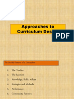 Curriculum Improvement