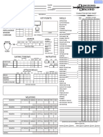 Dungeons and Dragons 3.5 Edition - Mad Irish Editable Classical Sheet