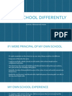 Doing School Differently