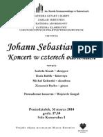 2014-03-31 Koncert Bachowski