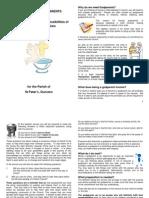 leaflet for godparents website
