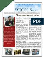 spring news letter  german