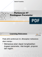 7 Pendugaan Parameter