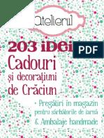 Revista Atelierul_Decoram de Craciun