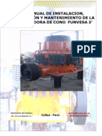 Manual de Chancadora Funvesa Conica 3' rev 1.pdf