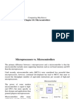 Chapter 10 Microcontrollezrs