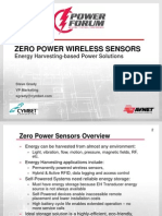 Zero Power Wireless Sensors