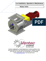 Technical Manual Rotary Valve