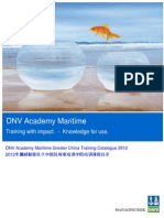 2012 DNV Academy GC Training Catalogue_tcm142-484160