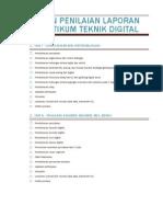 Acuan Penilaian Laporan Praktikum Teknik Digital