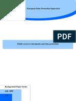 EDPS Accesstodocuments En