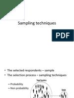 Research - Sampling