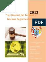 Ley General Del Turismo 2013