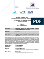 Services Conclave Programme - 28 Oct