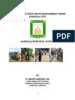 Case Study on Solid Waste Management Under Agaratla City