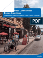Transit Oriented Communities Design Guidelines