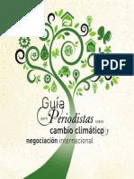 Guía Periodistas Sobre Cambio Climático. Por Arturo Larena